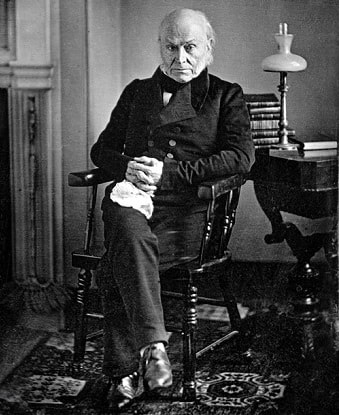 photograph of john quincy adams taken in 1843