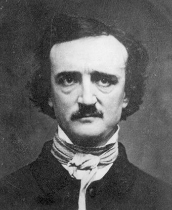edgar allan poe u s national park service black and white bust length photo of edgar allan poe a man a