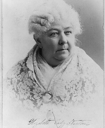 Portrait of Elizabeth Cady Stanton, Library of Congress.