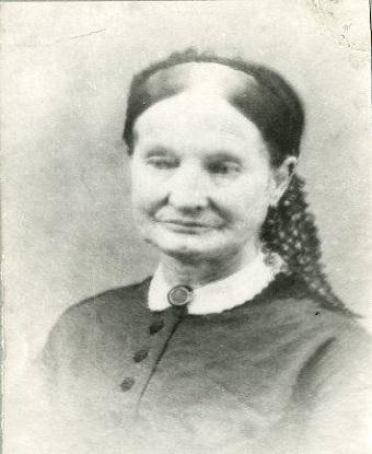 a young Eliza Ballou Garfield