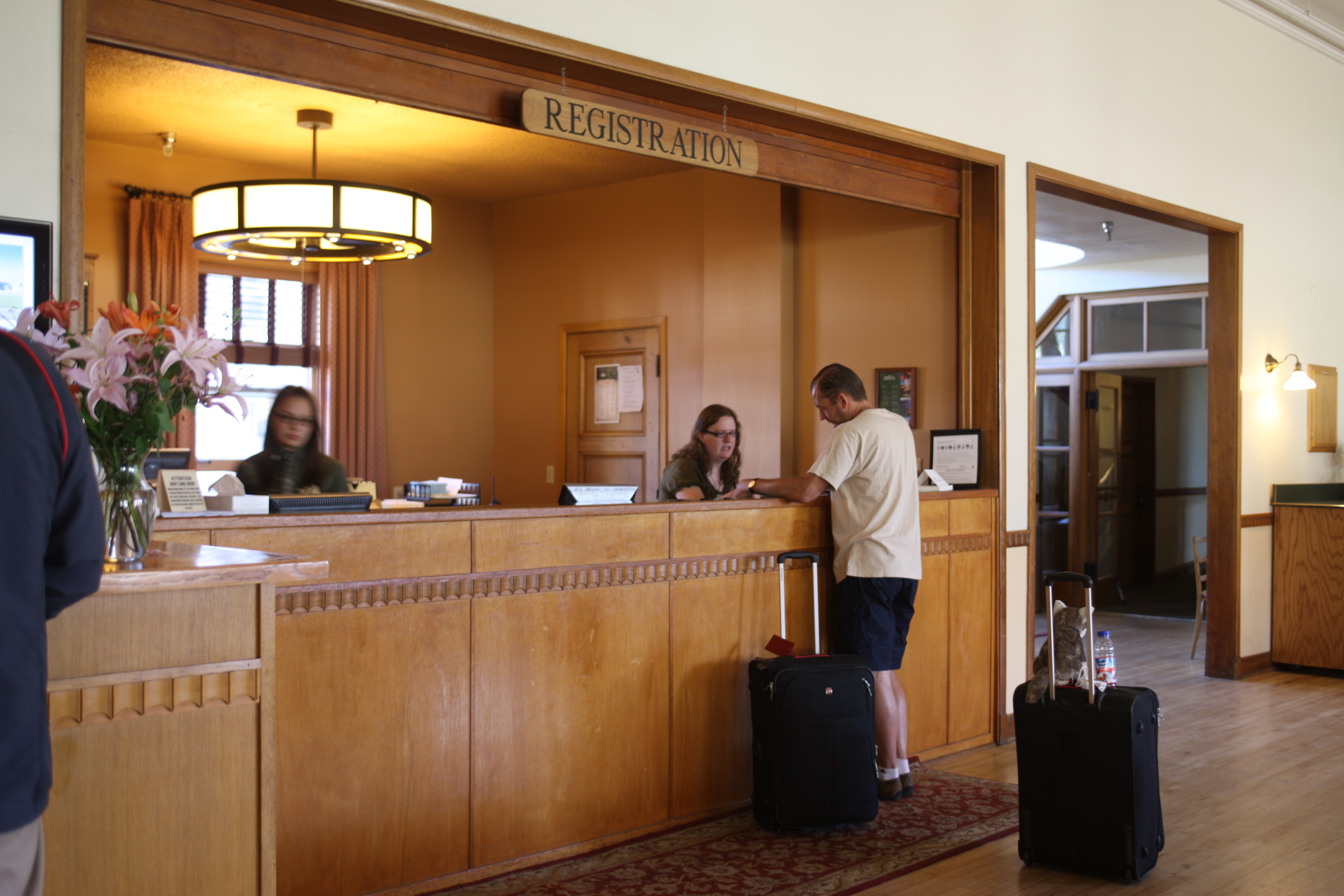 Hotel Lobby Welcome Desk Corian Built RT 137 Shop For Sale In