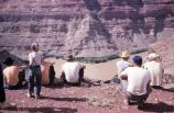 Moab scouts visit the Confluence Overlook, circa 1954.