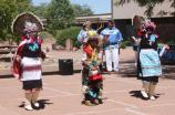 People - Zuni Dancers in Painted Desert Community Complex