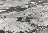 Aerial view of the National Memroial Arch during the 1957 National Jamboree