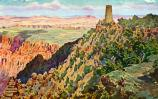 Grand Canyon Nat Park: Widforss Postcard H4483