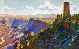 Grand Canyon Nat Park: Widforss Postcard H4481