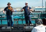 Craig Edwards and Geoff Kaufman performing at the Sea Music Festival