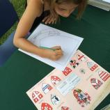 Virginia Dare Faire heraldry: come make your own coat of arms, sharing what is important to you. #Art