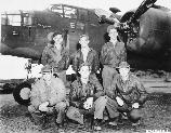 Crew of the B-25 Marjorie, 77 BS, Alexi Pt, Attu, 27 Sep 43