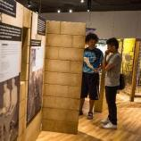 Students view exhibit