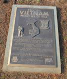 Placed in honor of the men held prisoner in Vietnam
