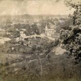 Greeneville looking East from Brown's Hill (next to National Cemetery), August 3, 1875