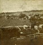 NE from Brown's Hill (next to National Cemetery) - August 3, 1875