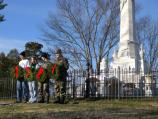 Wreaths for presidential monuments