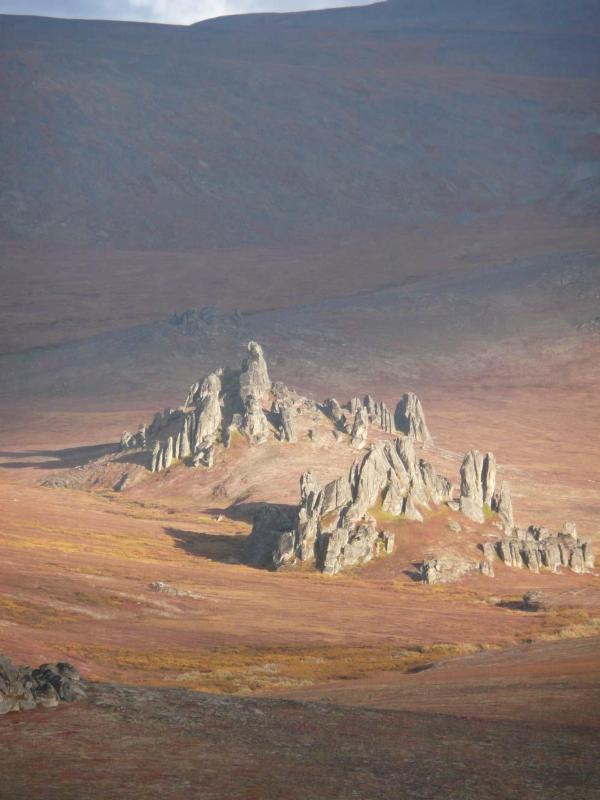 Tors of Serpentine, in the Bering Land Bridge National Preserve, Alaska - NPS photo