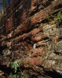 Mineral colorization and differential erosion have created many interesting rock formations within Big South Fork.