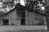 This barn was built by Oscar Blevins on his property in 1963.