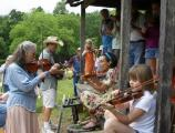 Fiddle workshops have been a popular visitor activity at Humpback Rocks over the past two summers.