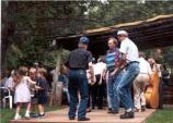 Gathering at Mabry Mill for music and dancing has been a Sunday afternoon tradition for decades.