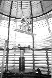 Inside the Bodie Island first order Fresnel lens