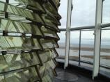 Fresnel lens atop the Bodie Island Lighthouse