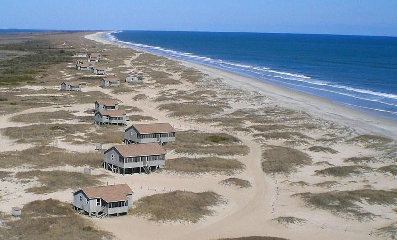 Cape lookout national seashore for Fishing cabins in nc