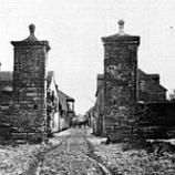 The city gates as they appeared during federal occupation of St. Augustine during the American Civil War.