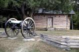 Snodgrass Cabin on the Chickamauga Battlefield.