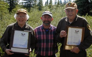 Denali National Park & Preserve campground hosts volunteer to stay for free and manage a campground