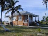 Historic cottage on loggerhead key in Dry Tortugas National Park
