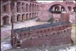 Inside Historic Fort Jefferson on Garden Key in Dry Tortugas National Park