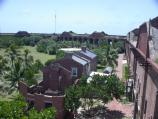Officers Quarters' ruins at Fort Jefferson