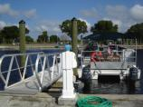 Flamingo concession boat tours with accessible ramp