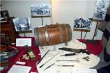 Kraig Lawson, Jack Barnhart Civil War period Army Navy Weapons and Accoutrements Exhibit.
