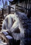Winter - Frozen Cable Mill Wheel