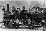 Engine No. 9 at Fish Camp
