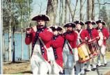 The Guilford Courthouse Fife & Drum Corps provides interpretive programs for the park.