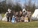 Tennessee militia and camp followers