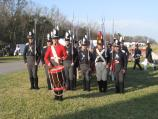 Living history experts portray the 7th US Infantry at the Battle of New Orleans anniversary