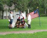 Plauche's Battalion members at Chalmette Remembers War of 1812 beginning June 2012