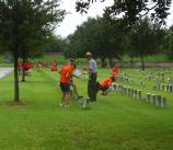 ELCA at Chalmette National Cemetery 23