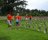 ELCA at Chalmette National Cemetery 25