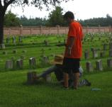 ELCA at Chalmette National Cemetery 4
