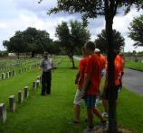 ELCA at Chalmette National Cemetery 10