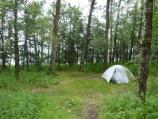 2 Tent in campground