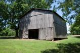 Tobacco Barn (milepost 401.4) on the Natchez Trace Parkway