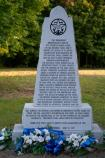 War of 1812 Monument (milepost 426.3) on the Natchez Trace Parkway
