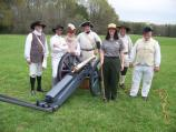 Cannon crew with Ranger.