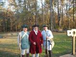 Colonial militia and a gentleman helped visitors step back into time.