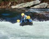 The joy of whitewater paddling.